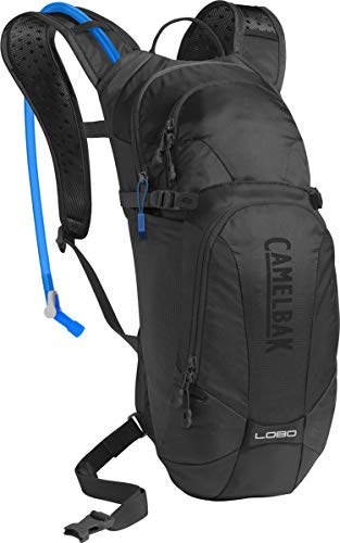CamelBak Lobo Crux Reservoir Hydration Pack, Black, 3 L/100 oz
