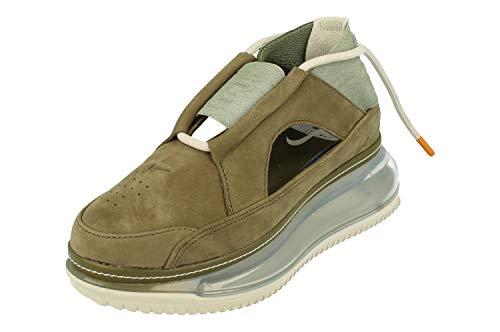 Nike Donne Air Max FF 720 Trainers AO3189 Sneakers Scarpe (UK 6 US 8.5 EU 40, Medium Olive Light Bone 201)