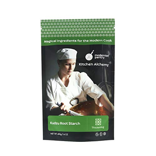 Pure Kudzu (Kuzu) Root Starch Powder ⊘ Non-GMO ❤ Gluten-Free ☮ Vegan - 400g/14oz