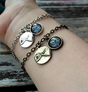 Best pinky promise leather bracelet Reviews