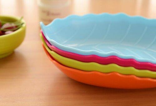 新品!セット販売葉型可愛い皿食器果物お菓子用台所用実用生活用品雑貨小物道具友達にプレゼントギフトクリスマス新年C-zqzb0955 (10点セット)