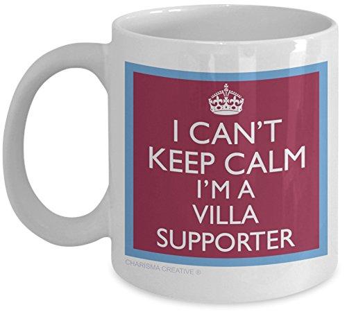 I Can't Keep Calm I'm an Aston Villa Supporter, Novelty Fun Mug