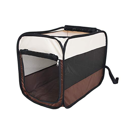 ZDJR Pet playpen with Cover,Easily Sets Up & Folds Down,The Best Indoor and Outdoor Pen. with Carry Bag,Available for Dogs, Cats and Other Pets