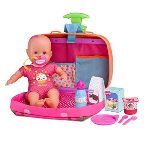 Nenuco Siempre Conmigo- Muñeco bebé con maletín (Famosa