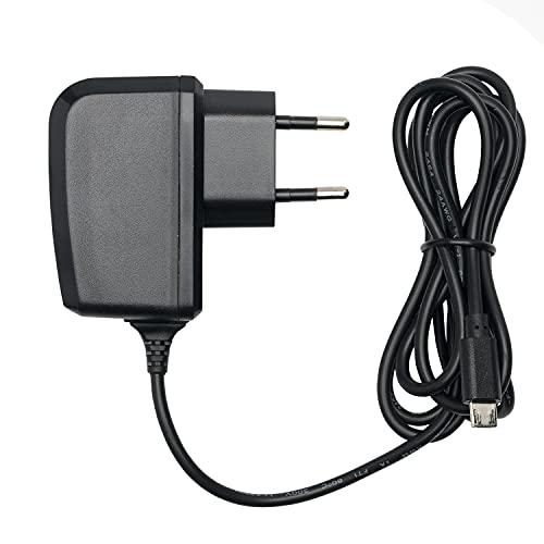 Slabo Caricabatterie Micro USB - 1000mA - per Xiaomi Redmi 4X | 5 | 5 Plus | Note 5 | Note 6 PRO Caricatore rapido per Caricabatterie da Viaggio per telefoni cellulari - Nero