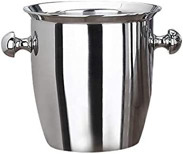 Sale item WJCCY Stainless Steel Thickened Red Thi Cooler Max 52% OFF Ice-pail Box Wine