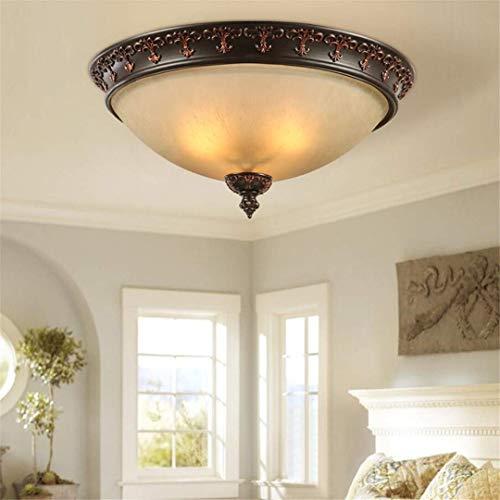 GD1 Plafond Licht Amerikaanse Plafond Lamp Retro Smeedijzer Eetkamer Lamp Slaapkamer Verlichting Eenvoudige Landelijke Verlichting