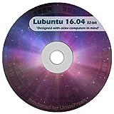 Lubuntu Linux 16.04 DVD - FAST Desktop Live DVD - Official 32-bit Release