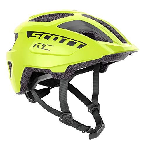 Scott Spunto Junior Plus Kinder Fahrrad Helm Gr.50-56cm gelb 2021