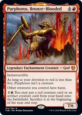 Magic: The Gathering - Purphoros, Bronze-Blooded - Theros Beyond Death