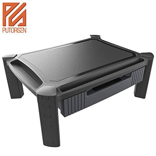 PUTORSEN® Soporte Monitor Ajustable cajón extraíble