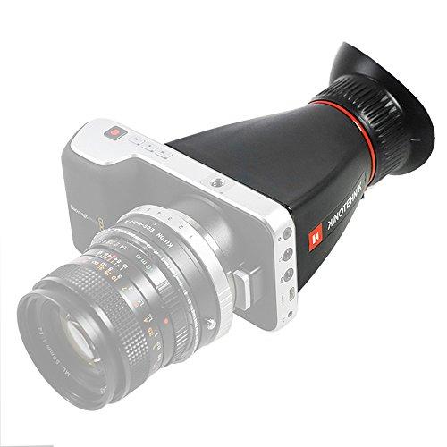 Kinotehnik LCDVF BM Displaylupe für die Blackmagic Pocket Camera- Viewfinder Lichtschacht Sucher