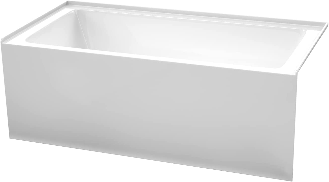 Grayley 60 x 30 Inch Alcove with Dra Free Shipping New Right-Hand Bathtub White Max 48% OFF in