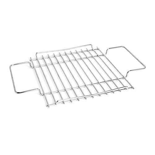 THÜROS Grillrostauflage Edelstahl für THÜROS T1 Tischgrill – Grillfläche: 30x30cm