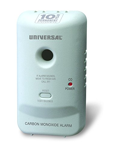 Universal Security Instruments 10 Year Tamper Proof Permanent Power Sealed Battery Carbon Monoxide Smart Alarm, Model MC304SB