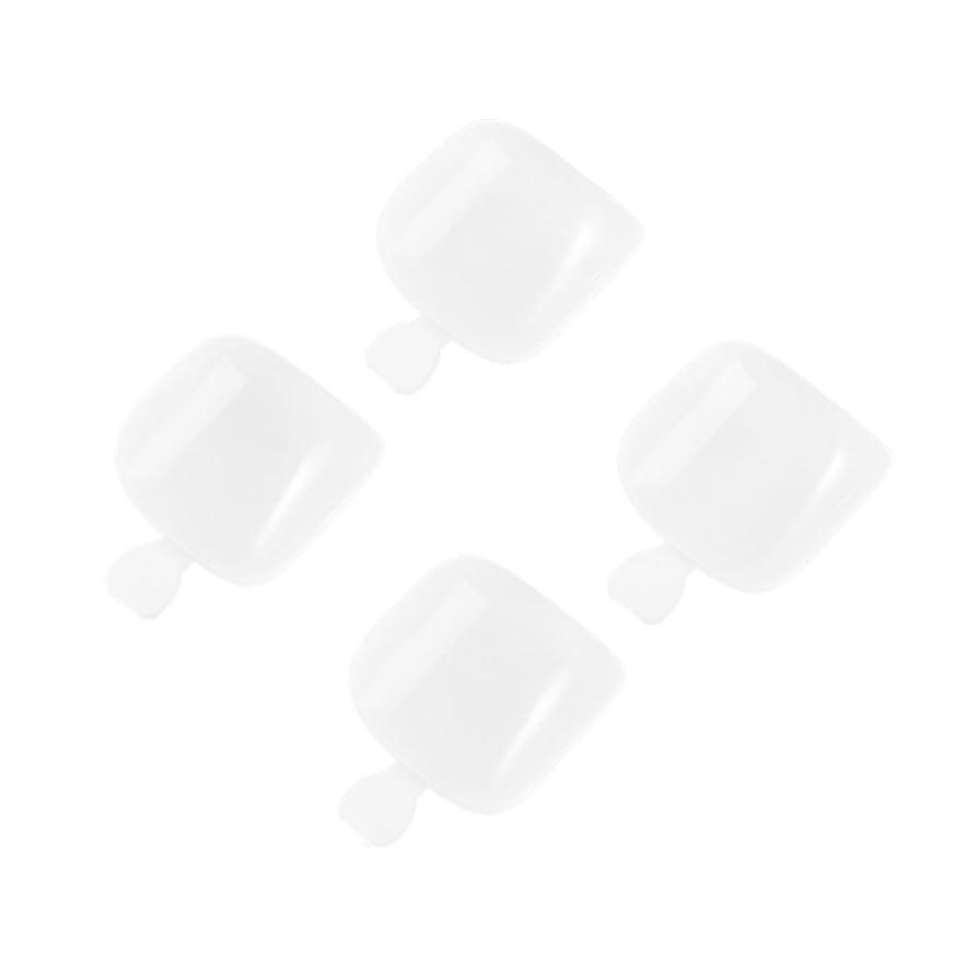 インシデント理論洞察力Decdeal ネイルチップ 500個の偽の足のヒントは、完全なカバーを設定します。DIYネイルアート&マニキュアサロン12サイズ 爪のヒント