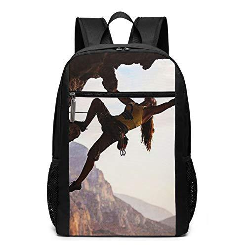 Zaino Scuola Casual Libertà dello sport di montagna dello scalatore, Uomo Donne Ragazze Ragazzi Zaino per Borsa Da Viaggio Zaini Scolastico per PC Portatili