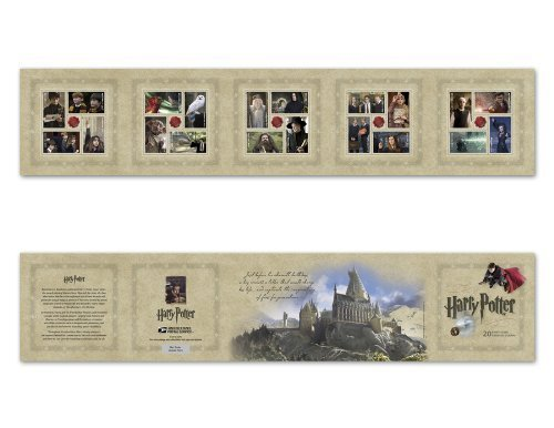 Harry Potter Limited Edition Collectible US Forever Postage Stamps, Model: 471104, Toys & Play