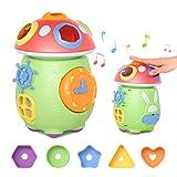 TUMAMA Baby Musik Spielzeug,Musikinstrumente Sensorisches Spielzeug Kinder,Baby Spielzeug Musik Geschenk für Kleinkinder,Jungen,Mädchen ab 3 Monate 6monate 9 Monate 12 Monate und up