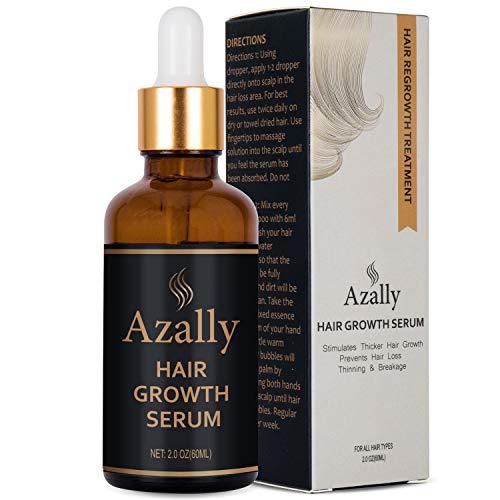 Natural Growth Hair Oil with Caffeine -...