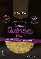 Agrofino 500 Gm Organic Instant Quinoa Flour- Gluten Free (White)