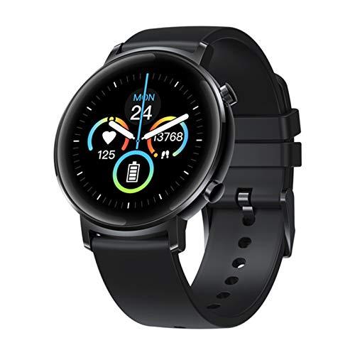 QAK Versión Global Original Reloj para Mujer Bluetooth 42Mm 5Atm Waterproof Smartwatch 12 Días Control De Música De Batería (para Android iOS),B