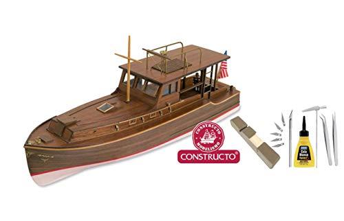 Outletdelocio Constructo 80841. Maqueta de Barco en Madera.