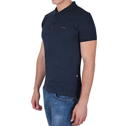Silver Plate 10440 Camiseta Polo, Hombre, Azul (Marino), M