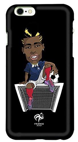 FFF beschermhoes voor iPhone 6, Paul Pogba – officiële collectie van het Franse voetbalelftal