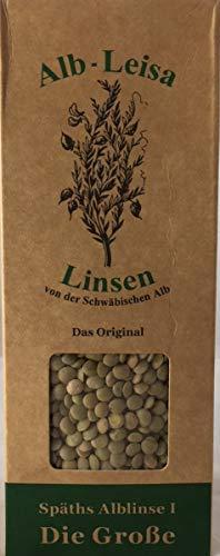 Alb-Leisa, Linsen von der schwäbischen Alb, Späths Alblinse I, Die Große, 500g