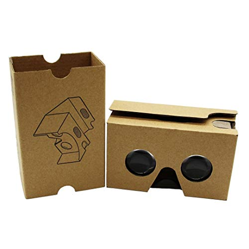 Review Of E-view Google Cardboard V2 ,VR 3d glasses,Google cardboard with Headband Fit , fit for goo...