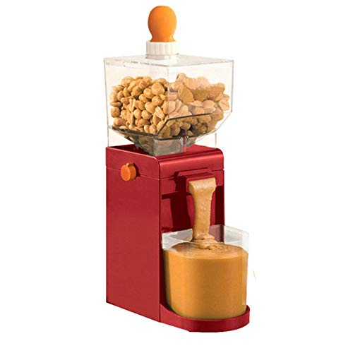 Peanut Butter Machine, Portable Nut Manufacturing Cooking Grinder, Traditional Physical Refining Method, Not Destroy Nuts, for Home Business.3.96.410.4in