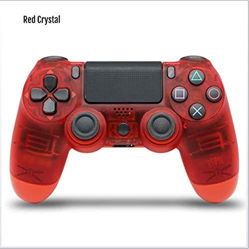 JINSE draadloze game controller, Ps4 controller Bluetooth 4.0 dual kop-handgreep Joystick Mando speelpad voor het spel console 4 Large rood