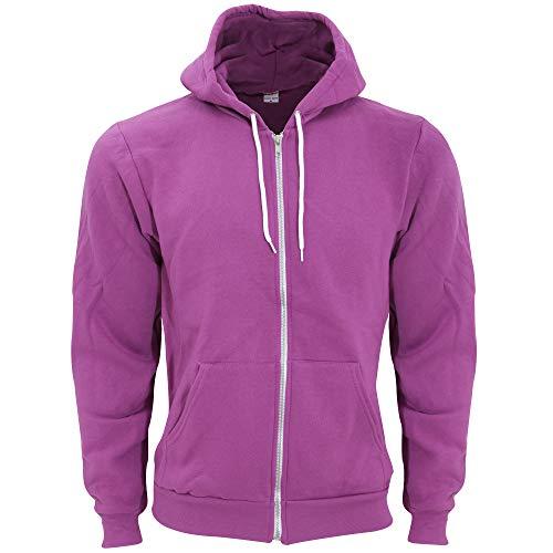 American Apparel Women's Flex Fleece Long Sleeve Zip Hoodie Hooded Sweatshirt, Asphalt, XX-Large