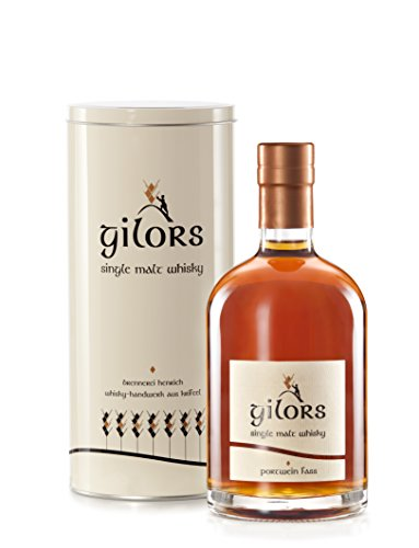 gilors Deutscher Single Malt Whisky im Portwein Fass gereift, 40% vol- Hessen -0,5l