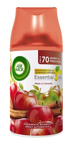 Air Wick Fresh Matic Recharge Spray Automatique Pomme et cannelle
