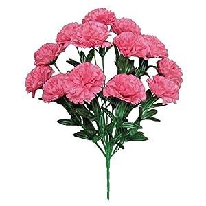 Pink Carnation 20″ Bouquet Artificial Silk Flower AB008