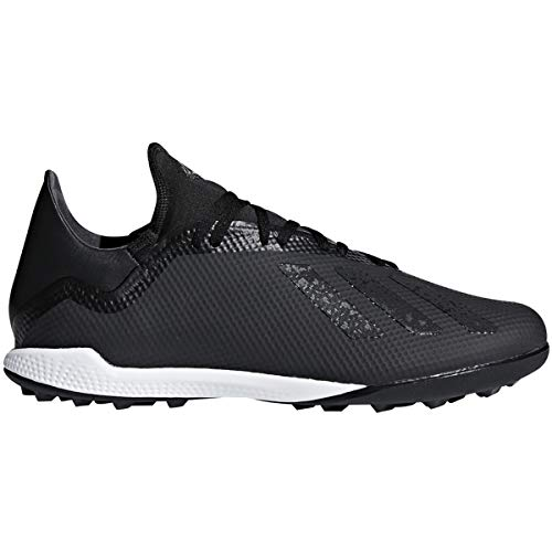 adidas Men's Predator 19.4 Turf Soccer Shoe (Black/White/Grey, Numeric_8)