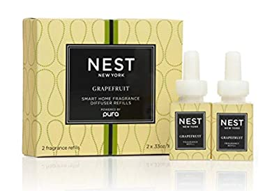 NEST Fragrances Smart Home Fragrance Diffuser Refill (Set of 2)- Grapefruit