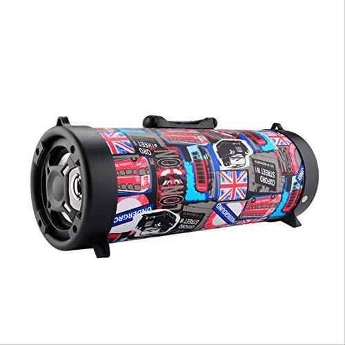 Mirage Speaker Bluetooth Draadloze Stereo Bass Draagbare Hifi Speaker Subwoofer Kleur Graffiti Usb Tf Kaart Outdoor Karaoke Speler Andere, andere