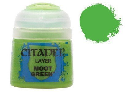 Citadel Layer: Moot Green by games workshop