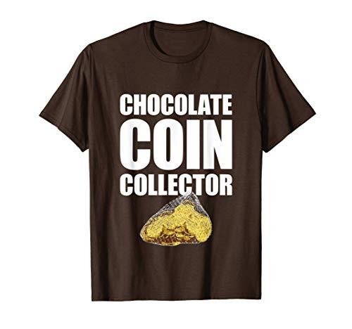 Chocolate Coin Collector Hanukkah Gelt T-Shirt