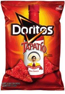 Doritos Tapatio Flavored Tortilla Chips, 9.75 Oz Bags (Pack of 7) by Frito Lay