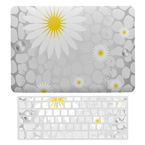 Macbook Air 13 Inch Case(A1369 & A1466, Older Version 2010 2017 Release), Plastic Hard Protective Laptop Case Shell With Keyboard Cover, Hawaiian Flowers Animal Dots