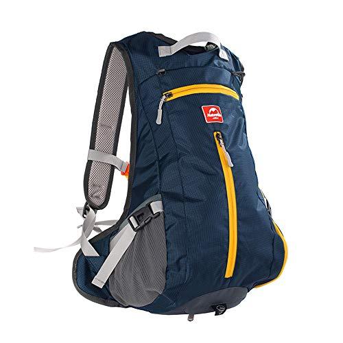 Tofern Bike Backpack 15L Waterproof Nylon Outdoor Sports Backpack Shoulder Belt Bag with Helmet-Mounted System