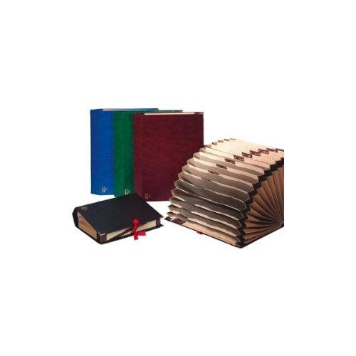 Archivador Acordeon Carchivo Carton Forrado (a-z Y 1-31) Verde 20 Bolsas