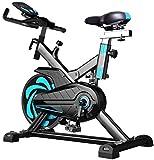 Ciclismo interior bicicleta cinturón impulsión interior bicicleta estática bicicleta estacionaria pantalla LCD para el hogar entrenamiento cardiovascular bicicleta entrenamiento