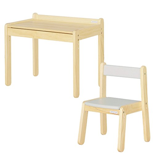 大和屋 ノスタ テーブル&リトルチェア 2点セット グレー 19200102 GY