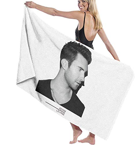Oluola Toalla de baño Bath Towel, Adam Levine Music Band Bath Towels Super Absorbent Beach Bathroom Towels for Gym Beach SWM SPA