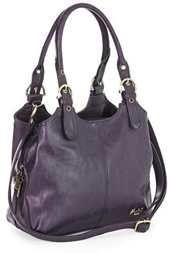 Mabel London Womens Multiple Pockets Handbag - Medium...